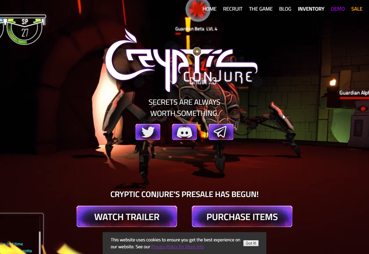 Cryptic Conjure